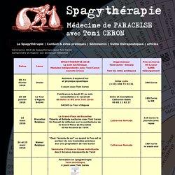 Spagythérapie - Médecine de Paracelse avec Toni Ceron