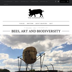 Sue Spaid, Bees, Art and Biodiversity - The Learned Pig