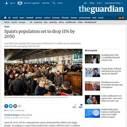 Spain's population set to drop 11% by 2050