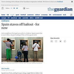 Spain staves off bailout - for now