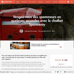 Vengez-vous des spammeurs en quelques secondes avec le chatbot Spamnesty - Tech