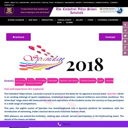 Spandan 2018 @ Boarding School In Mumbai