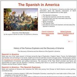 Spanish in America ***