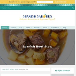 Spanish Beef Stew - Spanish Sabores