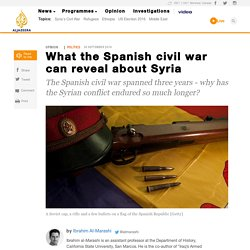 What the Spanish civil war can reveal about Syria