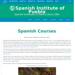 Spanish Language Courses by Spanish Institute of Puebla