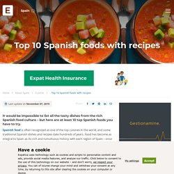 Top 10 Spanish foods with recipes - Expat Guide to Spain