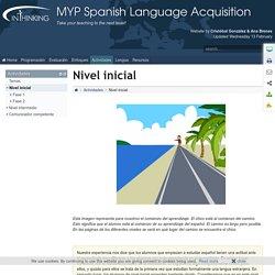 MYP Spanish Language Acquisition: Nivel inicial