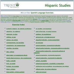 Más arriba: Spanish Language Exercises