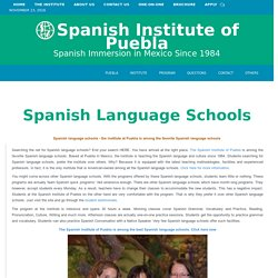 Spanish Language School - Learn Spanish in Mexico - Study in Spanish Classes