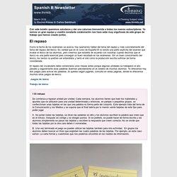 Spanish B Newsletter - www.thinkib