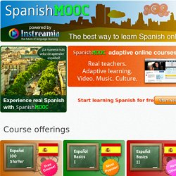Spanish MOOC | The first open online Spanish course for everyone