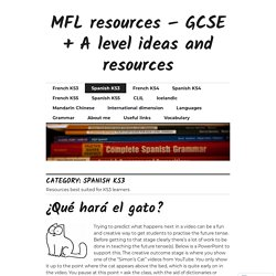 Resources and ideas for language teachers