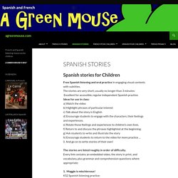 Spanish stories for kids