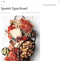 Spanish Tapas Board
