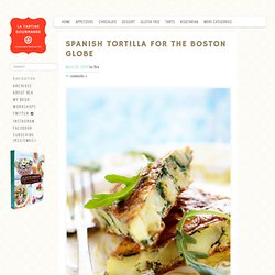 Spanish Tortilla for the Boston Globe