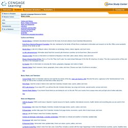 Spanish Web Resources - Web Links