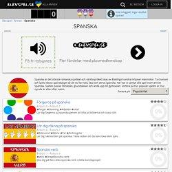Spanska spel (Träna gratis) - Elevspel