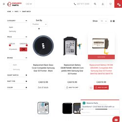 Spare parts Smart watches