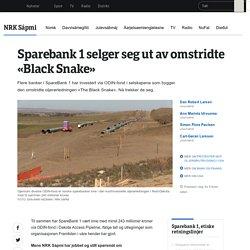 SpareBank 1 selger seg ut fra omstridt oljerørledning - NRK Sápmi