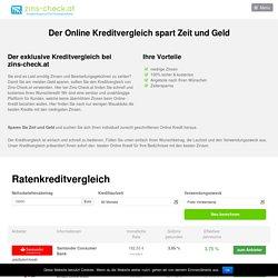 Kreditvergleich Österreich - zins-check.at