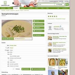 Spargelcremesuppe (Rezept mit Bild) von grinsekatze83