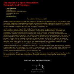 Spark Transmitter