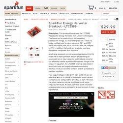 SparkFun Energy Harvester Breakout - LTC3588 - BOB-09946