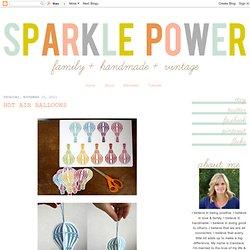 Sparkle Power!: Hot Air Balloons