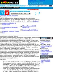 sat writing sparknotes