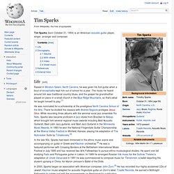 Tim Sparks