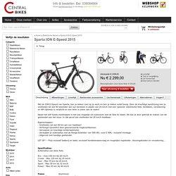 Sparta ION E-Speed 2015 - Central Bikes
