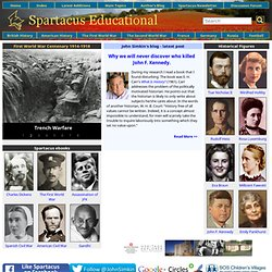 Spartacus Educational - UK and USA history