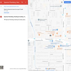 Spartan Tucson Plumbing– Google MyMaps