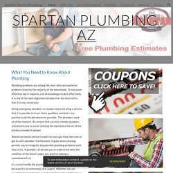Spartan Tucson Plumbing