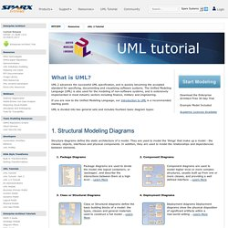 Sparx Systems - UML 2 Tutorial