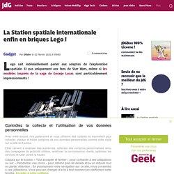 La Station spatiale internationale enfin en briques Lego !
