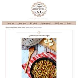 Spätzle alsaciens au lard et roquefort