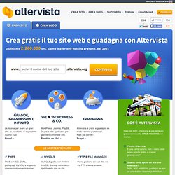 AlterVista Paint Your Web