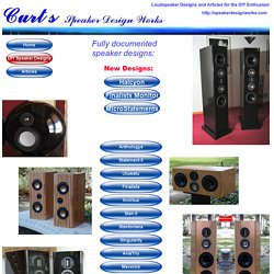 Speaker Design Works