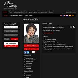 Kaat Exterbille - Speakers Academy®