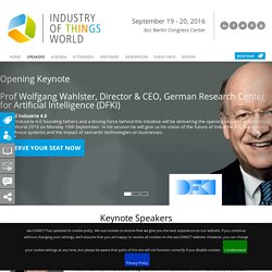 Speakers - Industry of Things World 2016