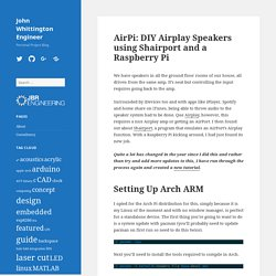 AirPi: DIY Airplay Speakers - John Whittington Engineer