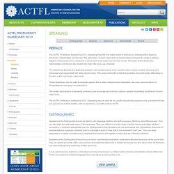 ACTFL language scale