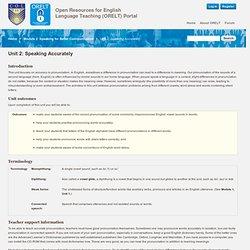 Open Resources for English Language Teaching (ORELT) Portal