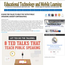 Educational Technology and Mobile Learning: 8 Good TED Talks to Help You With...