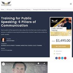 Public Speaking Classes: 6 Pillars of Communication