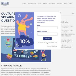 BOOKR Class Culture Quiz of English-speaking Countries with 32 Question Cards - BOOKR Class