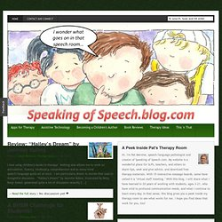 Speaking of Speech.blog.com | Speech/Language Therapy in the Schools