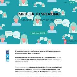 IMPULSA TU SPEAKING